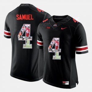 OSU #4 Mens Curtis Samuel Jersey Black Official Pictorial Fashion 738034-275