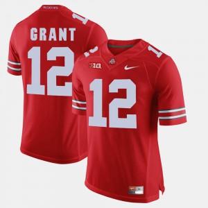 OSU #12 Men Doran Grant Jersey Scarlet NCAA Alumni Football Game 367153-442