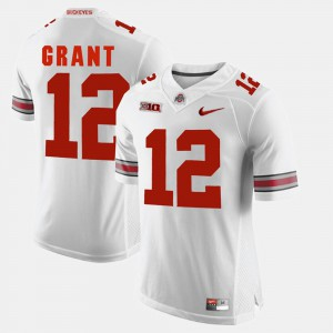 Ohio State #12 For Men Doran Grant Jersey White Player Alumni Football Game 115907-218