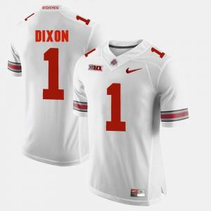 Ohio State #1 For Men Johnnie Dixon Jersey White Embroidery Alumni Football Game 365560-650