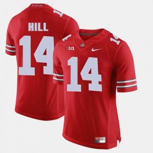 OSU #14 Men's K.J. Hill Jersey Scarlet College Alumni Football Game 537089-431