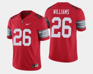 OSU Buckeyes #26 Mens Antonio Williams Jersey Scarlet 2018 Spring Game Limited NCAA 687798-506