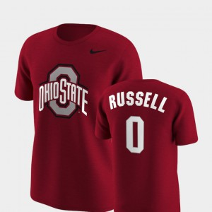 Ohio State #0 Men D'Angelo Russell T-Shirt Scarlet Stitched Replica Future Stars 895900-142