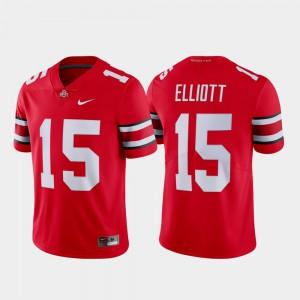Ohio State Buckeye #15 For Men Ezekiel Elliott Jersey Scarlet High School Name & Number Limited 642868-629