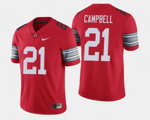 Ohio State Buckeyes #21 For Men Parris Campbell Jersey Scarlet High School 2018 Spring Game Limited 172603-423