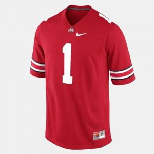 OSU #1 Kids Dontre Wilson Jersey Red College Football Alumni 802949-546
