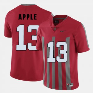 Buckeyes #13 Men Eli Apple Jersey Red College College Football 579853-522