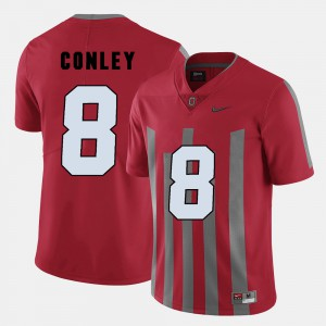 Ohio State Buckeyes #8 Mens Gareon Conley Jersey Red Player College Football 363521-240