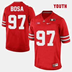 Buckeye #97 For Kids Joey Bosa Jersey Red University College Football 684277-149
