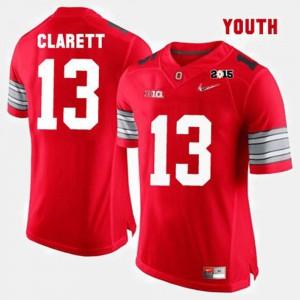 OSU Buckeyes #13 Youth(Kids) Maurice Clarett Jersey Red NCAA College Football 521836-381