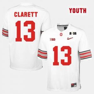 Ohio State #13 Kids Maurice Clarett Jersey White College Football Player 953151-543