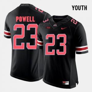 OSU #23 Kids Tyvis Powell Jersey Black Stitch College Football 943052-133