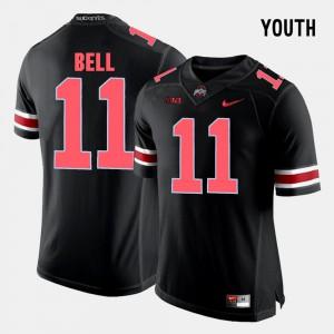 OSU Buckeyes #11 For Kids Vonn Bell Jersey Black NCAA College Football 290502-239