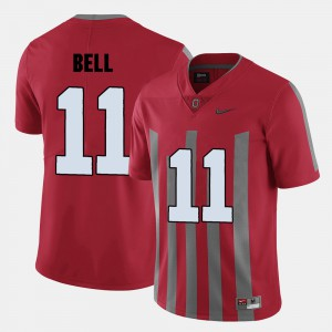 Ohio State Buckeyes #11 For Men's Vonn Bell Jersey Red College Football Player 928935-646