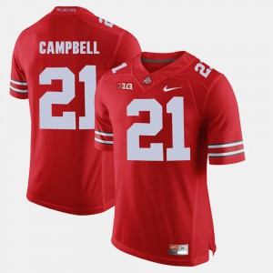 Ohio State #21 Mens Parris Campbell Jersey Scarlet Alumni Football Game High School 259445-193