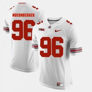 Ohio State #96 Mens Sean Nuernberger Jersey White Alumni Football Game High School 722137-923