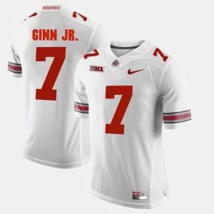 Ohio State #7 For Men Ted Ginn Jr. Jersey White High School Alumni Football Game 684474-572