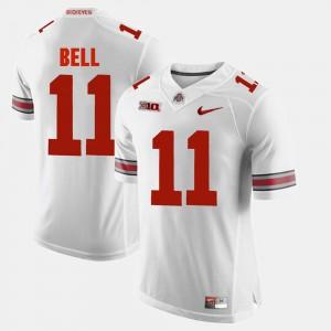 OSU #11 Men's Vonn Bell Jersey White Alumni Football Game High School 383761-636